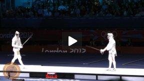 London Olympics 2012 - L4 - Diego Occhiuzzi ITA v Rares Dumitrescu ROU