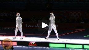 London Olympics 2012 - GOLD - Szilagyi Aron HUN v Diego Occhiuzzi ITA