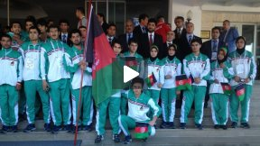Empowering Afghan Women by Sports, Esteqlal Female Football Team Training Part 1