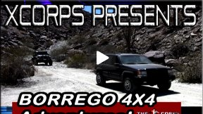Xcorps Borrego Desert 4x4 Adventures Featuring Hunter Valentine