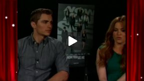 My Fun Interviews with Dave Franco and Isla Fisher Part 2 - Franco Tells Me He Loves Me!