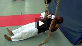 Chris Jones Blind Judoka