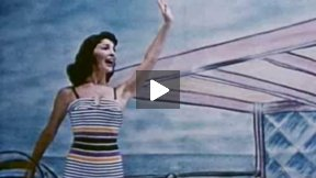 Archive Fashion Film 1956: The Story of a Star