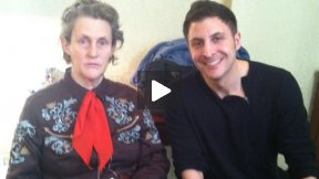 #InTheLab w Dr. Temple Grandin