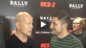 #InTheLab w Bruce Willis at the