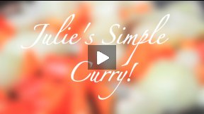How to make a simple curry! - Deaf Demonstration