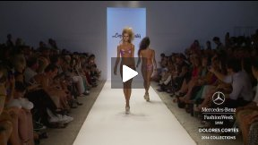 Dolores Cortés 2014 SWIMWEAR RUNWAY SHOW ● MERCEDES-BENZ FASHION WEEK SWIM #MBFWSWIM
