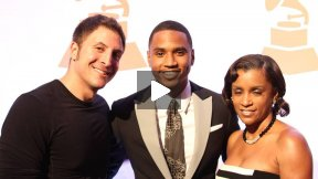 Trey Songz at the Recording Academy Honors