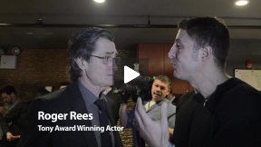 Roger Rees at Culture Project's Lynn Redgrave Theater
