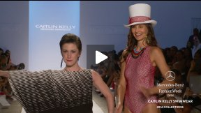 CAITLIN KELLY 2014 SWIMWEAR RUNWAY SHOW ● MERCEDES-BENZ FASHION WEEK MIAMI #MBFWSWIM