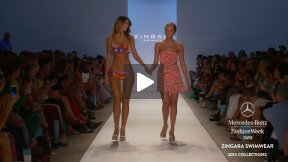 ZINGARA 2014 SWIMWEAR RUNWAY SHOW ● MERCEDES-BENZ FASHION WEEK MIAMI #MBFWSWIM