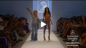 ANNA KOSTUROVA 2014 SWIMWEAR RUNWAY SHOW ● MERCEDES-BENZ FASHION WEEK MIAMI #MBFWSWIM