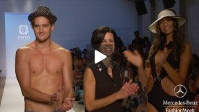 NAÏLA 2014 SWIMWEAR RUNWAY SHOW ● MERCEDES-BENZ FASHION WEEK MIAMI #MBFWSWIM