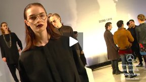SECOND/LAYER FALL 2013 RUNWAY SHOW ● MERCEDES-BENZ FASHION WEEK NYC #MBFW