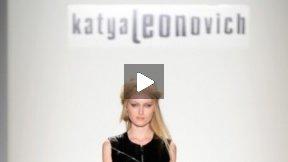 KATYA LEONOVICH FALL 2013 RUNWAY SHOW ● MERCEDES-BENZ FASHION WEEK NYC #MBFW