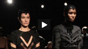 ALON LIVNÉ FALL 2013 RUNWAY SHOW ● MERCEDES-BENZ FASHION WEEK NYC #MBFW