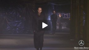Y-3 YOHJI YAMAMOTO FALL 2013 RUNWAY SHOW ● MERCEDES-BENZ FASHION WEEK NYC #MBFW