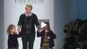 EMERSON by JACKIE FRASER-SWAN FALL 2013 RUNWAY SHOW ● MERCEDES-BENZ FASHION WEEK NYC #MBFW