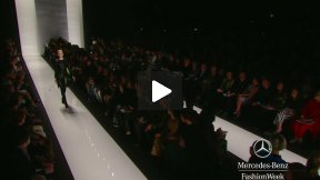 RALPH RUCCI FALL 2013 RUNWAY SHOW ● MERCEDES-BENZ FASHION WEEK NYC #MBFW