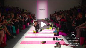 BETSEY JOHNSON FALL 2013 RUNWAY SHOW ● MERCEDES-BENZ FASHION WEEK NYC #MBFW