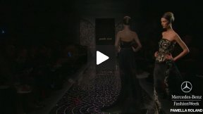 MERCEDES-BENZ FASHION WEEK #MBFW NYC FALL 2013 FASHION SHOW ●● PAMELLA ROLAND ●●