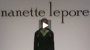 THE NANETTE LEPORE FALL 2013 FASHION SHOW MERCEDES-BENZ FASHION WEEK NYC #MBFW