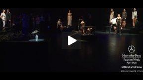 THE MERCEDES-BENZ FASHION WEEK AUSTRALIA SPRING ○ SUMMER 2013/14 SERPENT & THE SWAN RUNWAY SHOW MBFWA
