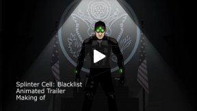 MAKING OF - Splinter Cell Animated Trailer