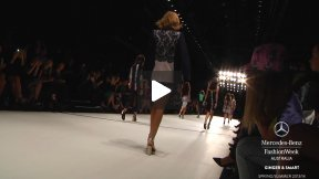 THE MERCEDES-BENZ FASHION WEEK AUSTRALIA SPRING ○ SUMMER 2013/14 GINGER & SMART RUNWAY SHOW MBFWA