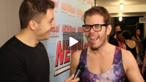 #InTheLab w Perez Hilton at Newsical The Musical
