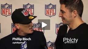 Phillip Bloch at Back-To-Football Fashion Presentation w NFL and Vogue