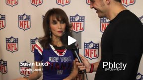 Susan Lucci at Back-To-Football Fashion Presentation w NFL and Vogue