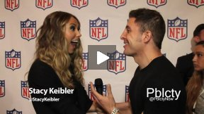 Stacy Keibler at Back-To-Football Fashion Show w NFL and Vogue