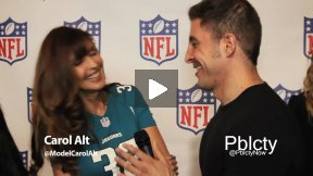Carol Alt at Back-To-Football Fashion Presentation w NFL and Vogue