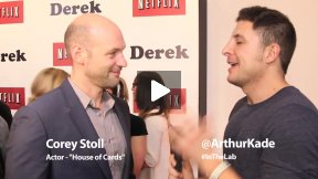 #InTheLab w Corey Stoll on the
