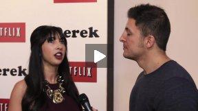 #InTheLab w Jackie Cruz on the Derek Red Carpet