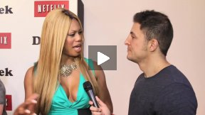 #InTheLab w Laverne Cox on the