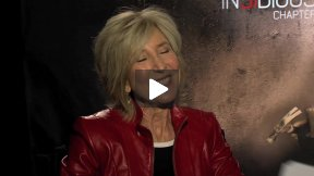 "Lin Shaye and Leigh Whannell Talk About ""Insidious: Chapter 2"""