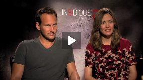 "Patrick Wilson and Rose Byrne Talk About ""Insidious: Chapter 2!""  The Lamberts Speak!"