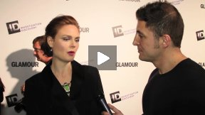 #InTheLab Investigation Discovery and Glamour Red Carpet
