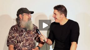 #InTheLab w Si Robertson from #DuckDynasty