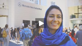 The Mercedes-Benz Fashion Week in NYC, Afghan Perspective
