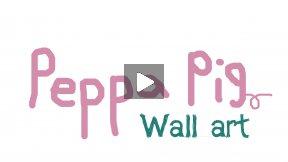 Peppa Pig Wall Art