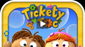 Tickety Toc Bubble Time Story App Trailer
