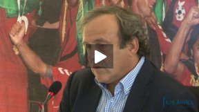 UEFA President Michel Platini on European support to Afghan Football
