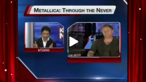 "James Hetfield Talks About ""Metallica: Through the Never"""