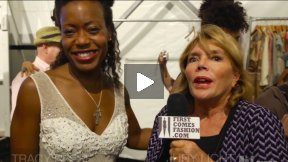 First Comes Fashion: Designer Tracy Reese Interviewed Backstage by Judy Licht