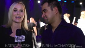 First Comes Fashion: Designer Bibhu Mohapatra Interviewed Backstage by Katrina Szish