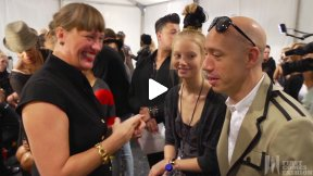 First Comes Fashion: Robert Verdi Interviews Charlotte Willer (Maybelline Global Makeup Artist) for Fashion Show on the Go