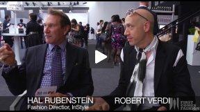 First Comes Fashion: Robert Verdi Interviews InStyle Fashion Editor Hal Rubenstein